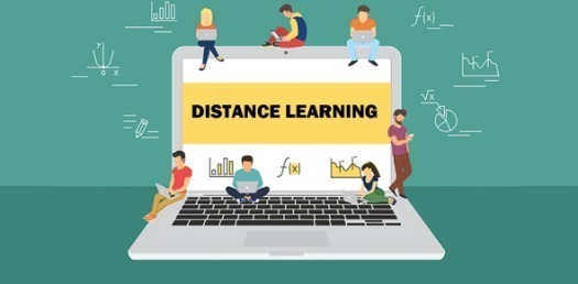 Distance Learning-Laptop Image