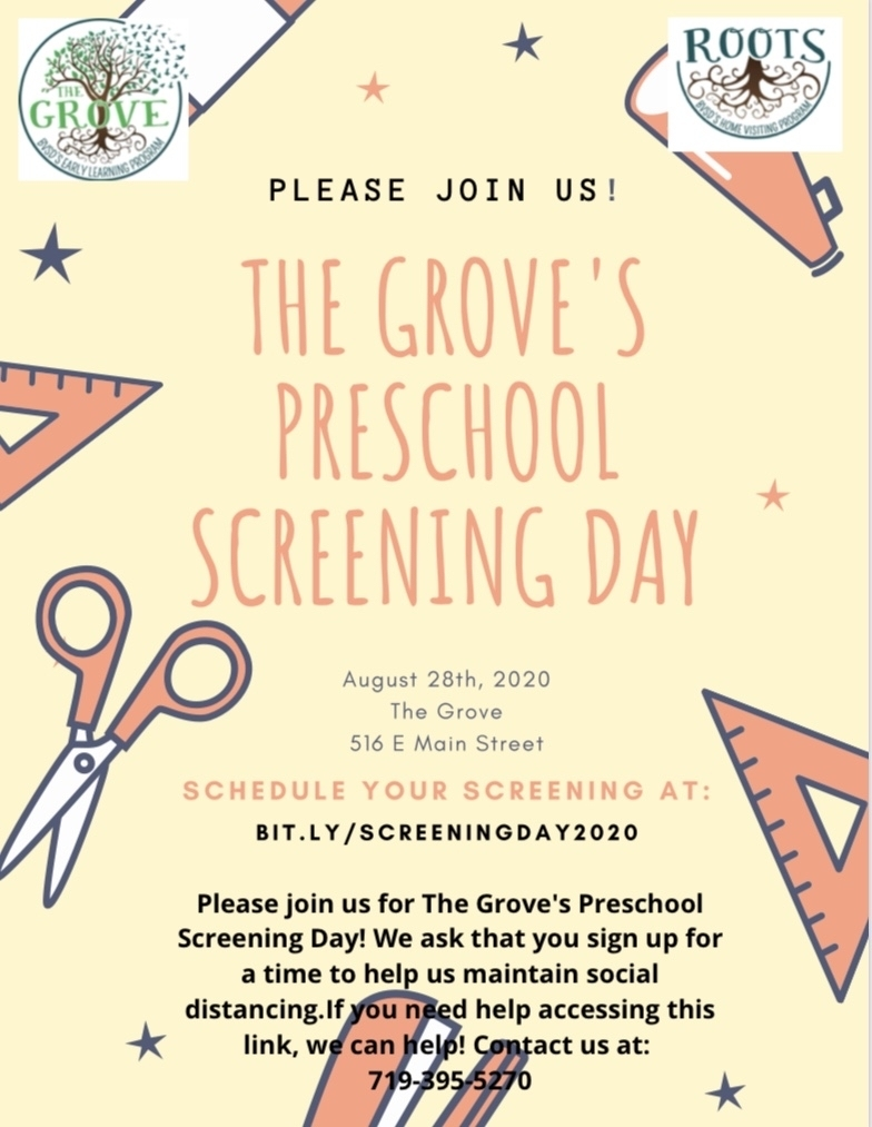The Grove Screening Day Flier